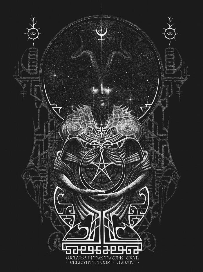 Black Ink Dark Light Stag Amp Serpent Artworks Spotlight