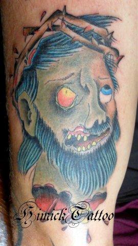 zombie-jesus-tattoo