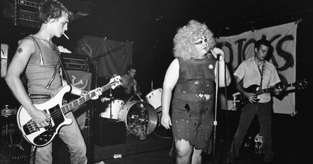 The Bluesy Band Of 80S Hardcore The Dicks 1985 Rare -9077