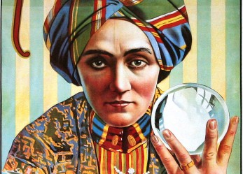Knows Sees Tells All! <br/>Vintage Magic Show Posters