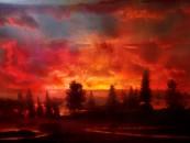 Kim Keever's Fish Tank Landscapes