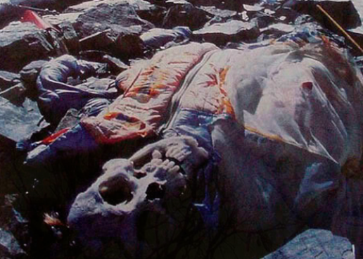 Frozen In Death…The Corpses Of Mt. Everest