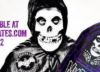 Skate or Die! BAT SKATES…80's Hardcore Decks!
