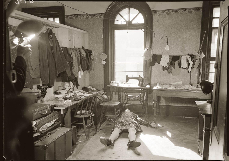 nsfw  vintage scene of crime photos