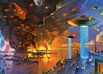 Aliens and Spaceships… Bruce Pennington's Retrofuturism