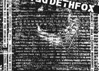 New DETHFOX Streaming & Tour News!