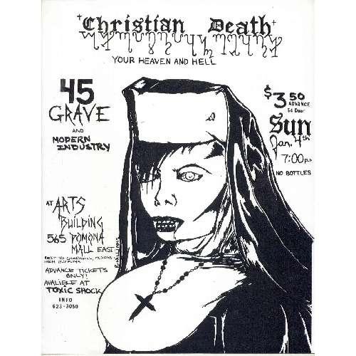 christiandeath45grave