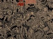 A Complete Aural Skull-F*****g:  LEECHFEAST / METH DRINKER Split Review + Stream