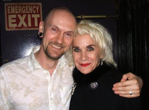 Author Mikey Bean with Gitane Demone