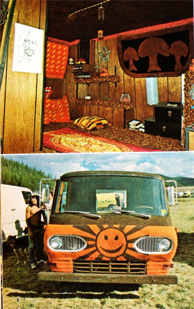 Magic Carpet Rides In 70 S Shaggin Wagons