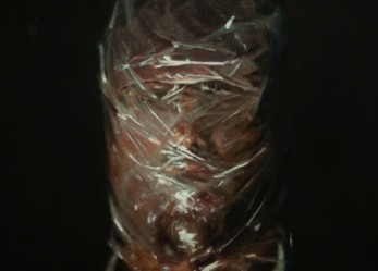 Axel Void's Unsettling Paintings Of Subjects Suffocating In Plastic