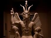 The Satanic Temple Baphomet Statue Unveiling in Detroit