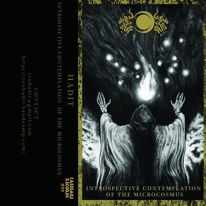 Hadit introspective contemplation of the microcosmus review full there must be some conceptual ideology to this effort i am thusly possessed of the belief this tape comes with a killer cover the band has a nice logo as publicscrutiny Images