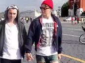 What Happens When Two Men Hold Hands on The Streets of Russia?