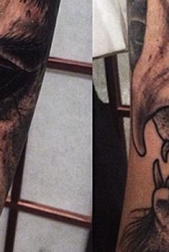 Satan's Ink & The Devils Hand<br/>  The Tattoos of DENI AKTEMIROV