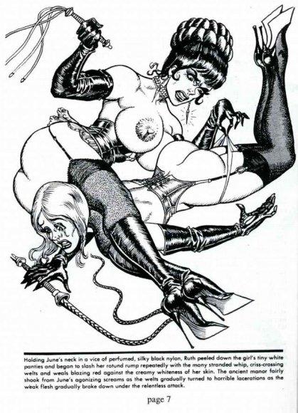 Erotic art by Gene Bilbrew (aka Eneg)