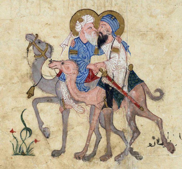 Maqamat-al-Hariri-Maqāma-32-Syria-or-Iraq-ca.-1240-BnF-Arabe-3929-fol.-122r-1099x1024