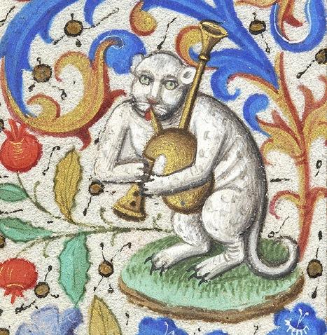 bagpipes-cat-book-of-hours-Paris-ca.-1460.-NY-Morgan-Library-Museum-MS-M.282-fol.-133v