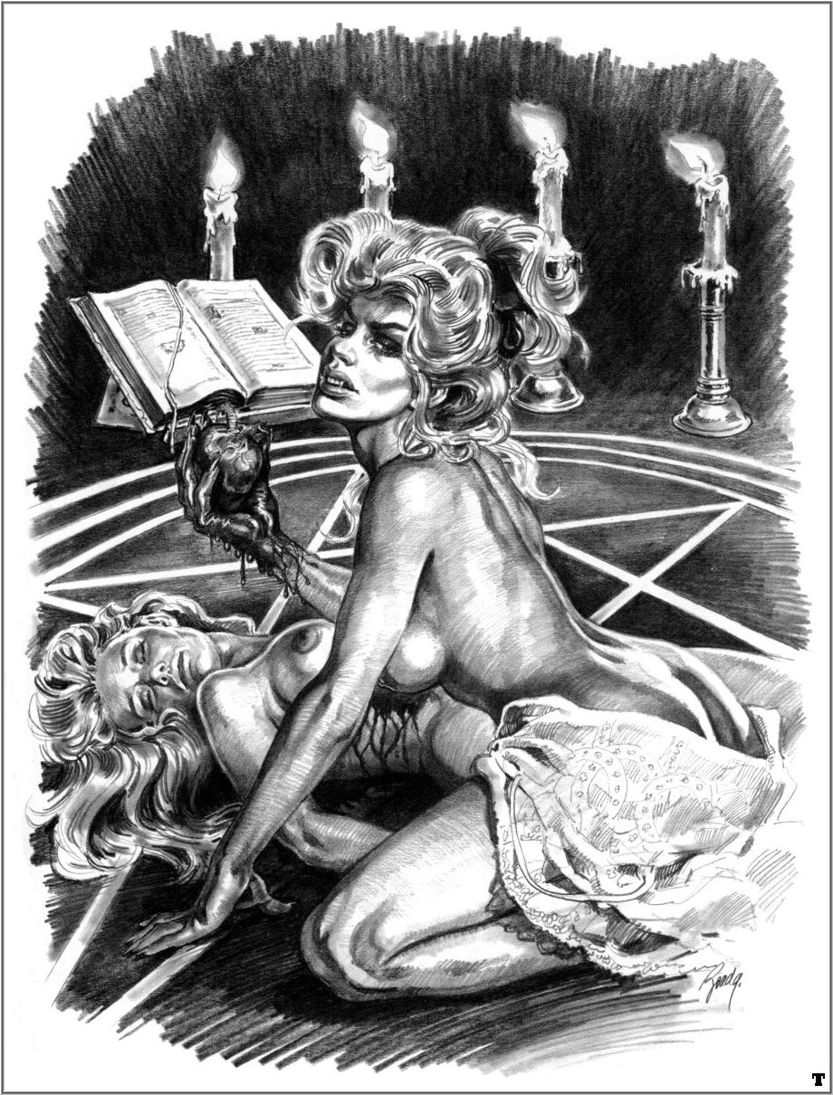 Эротическое фото ведьм 11 фотография