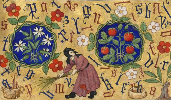 sweeping-the-letters-book-of-hours-Hours-of-Marguerite-dOrléans-Rennes-ca.-1430.