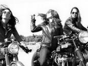 NSFW:<br/>Leather-Motors-Wind…<br/>Vintage Steel Portraits of Women & Bikes!
