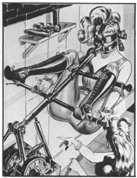 eneg bondage and fetish art