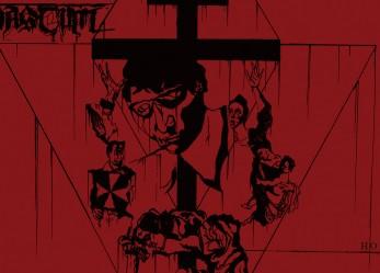 "Gut Churning Death Metal <br/>CVLT Nation Premiere: <br/>Streaming VASTUM's ""Amniosis"""