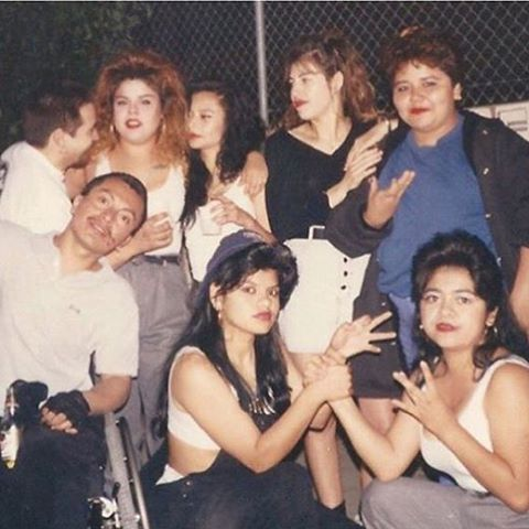 Portraits of 70 39 s 80 39 s cholas culture for 90s chicago house music