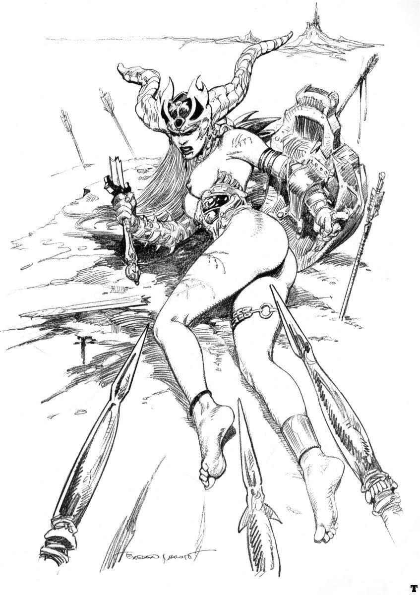 Pencil erotic sketchings casually
