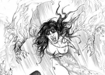 The Erotic Fantasy Sketches Of Esteban Maroto