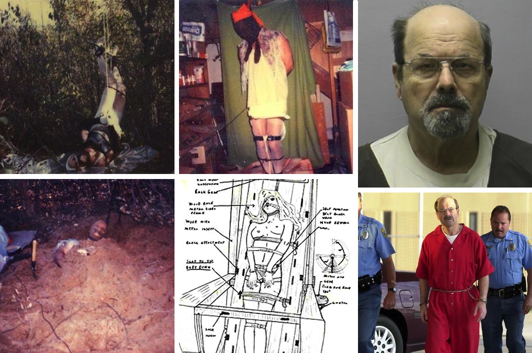 NSFW: Bound-Torture-Kill B T K  Serial Killer Self Portraits & Crime
