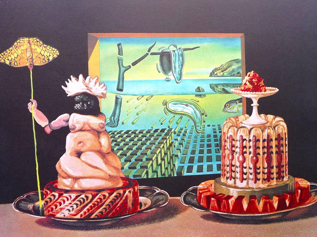 Resultado de imagen para Les diners de Gala, del pintor Salvador Dalí.