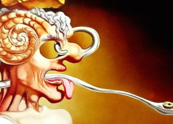 """The Twisted & Erotic Cookbook by Salvador Dali """"Les Diners De Gala"""""""