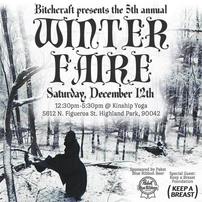 bitchcraft winter faire