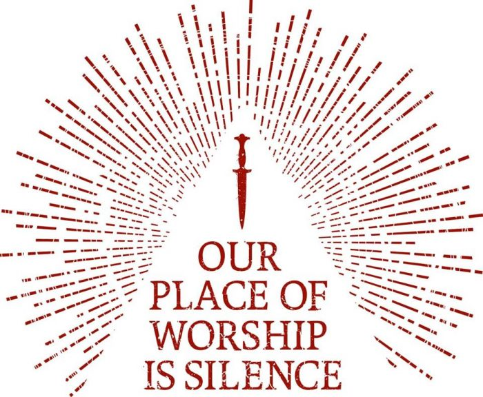 our place of worship is silence