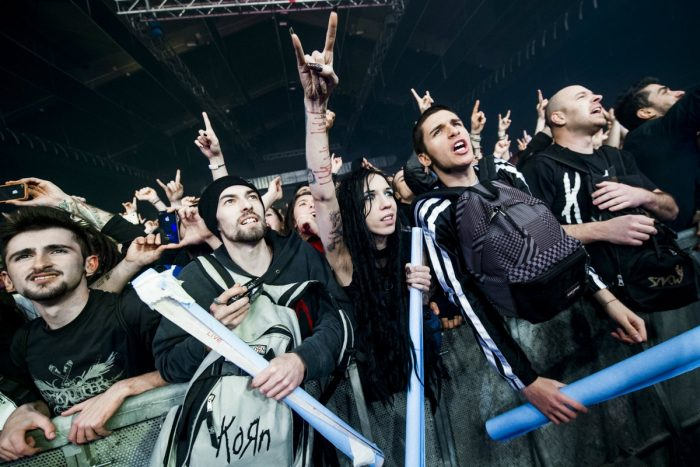 Korn Concert nu metal