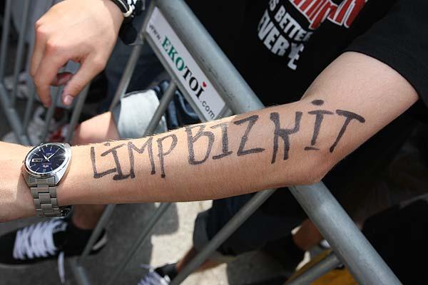 Limp Bizkit fan nu metal