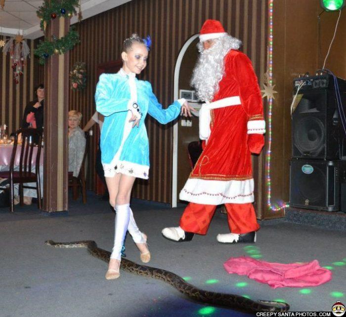 santa-and-his-snake
