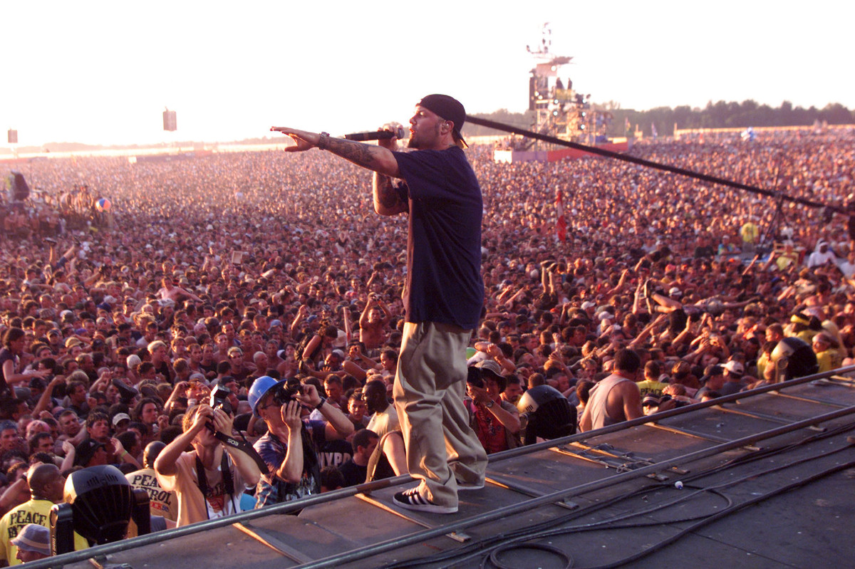 Limp Bizkit at Woodstock 99