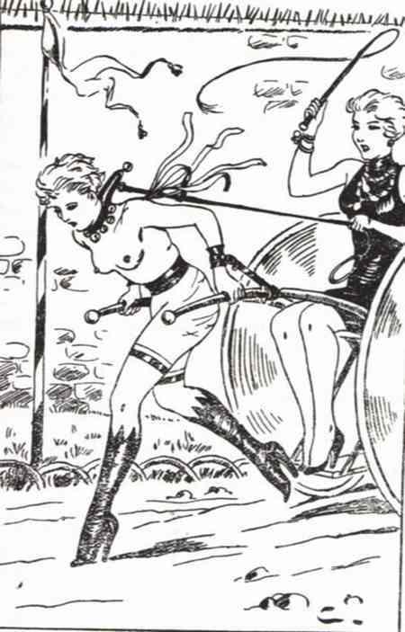 Does graphic novel bondage domination once