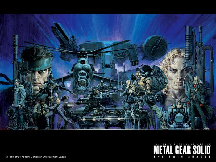 Metal Gear Solid Artwork: The Mind Of A Master... The Art Of Noriyoshi Ohrai