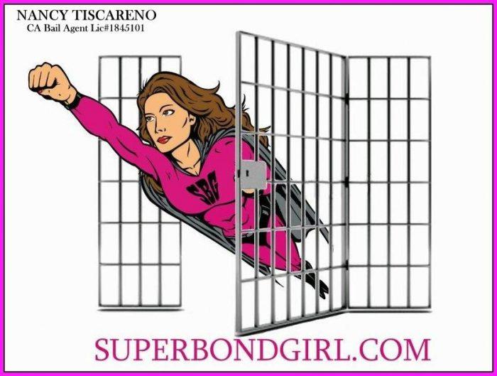 Super Bond Girl, superbondgirl, Nancy Tiscareno, bail bond, logo, trademark, SBG, world famous