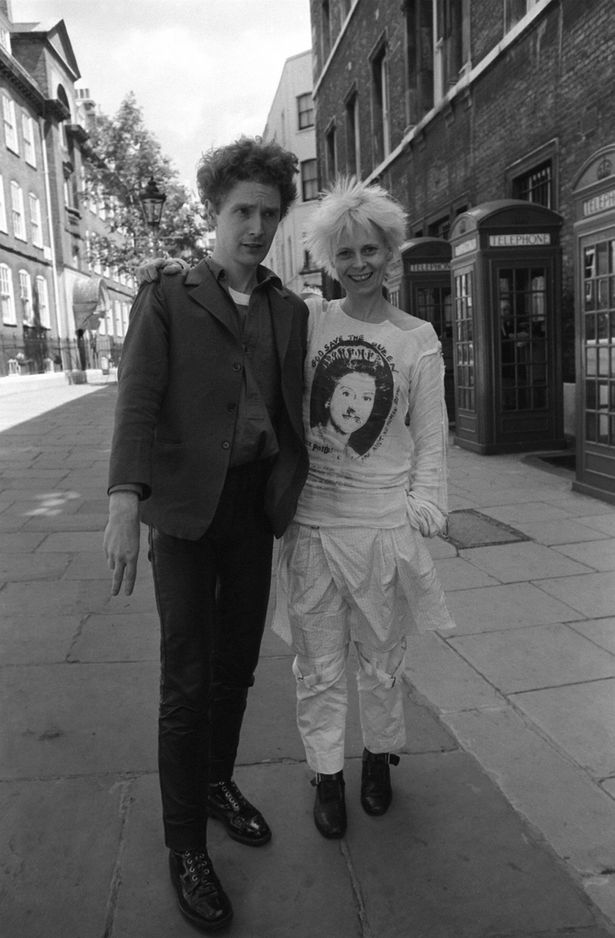 Vivienne Westwood and Malcolm McLaren