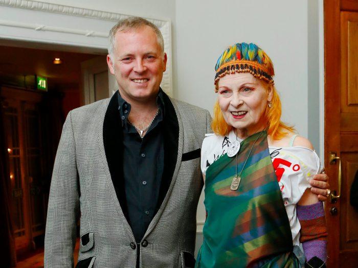Joe Corré and Vivienne Westwood