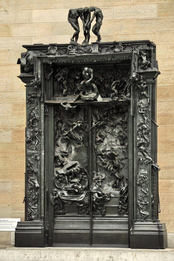 Rodin La Porte de l'Enfer