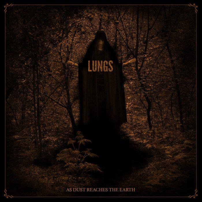 lungs - as dust reaches earth