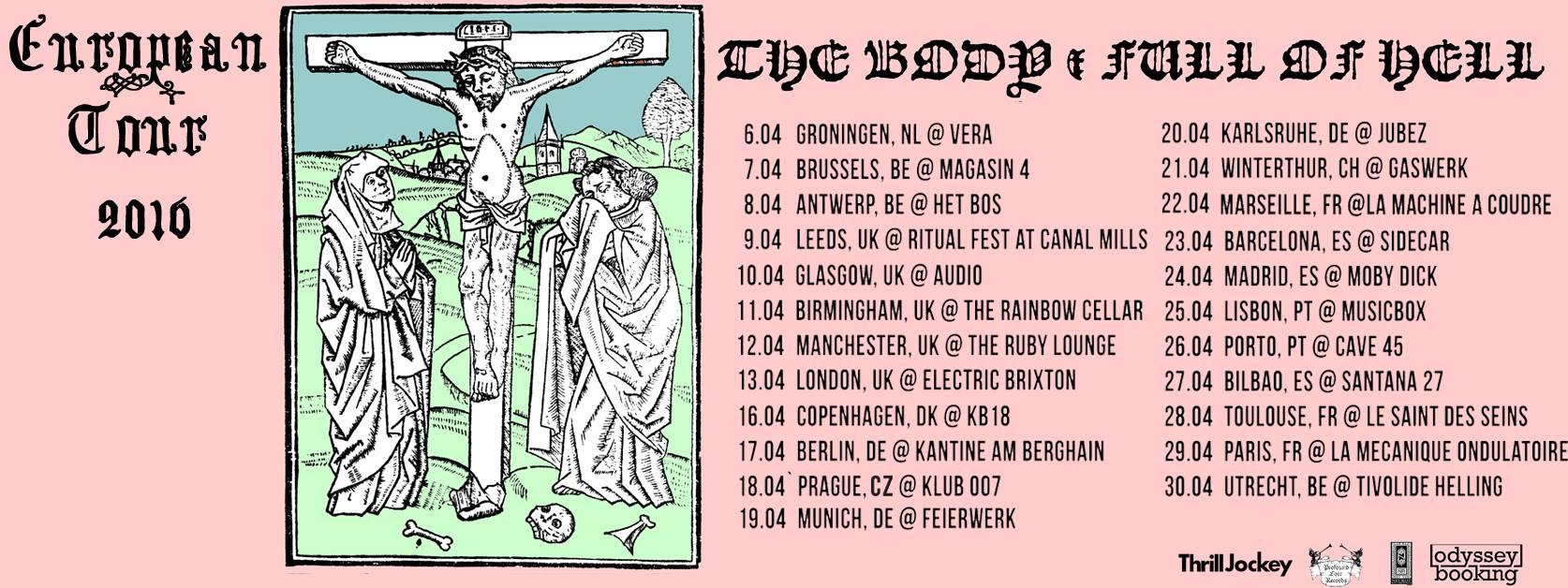 full of hell tour
