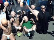"""Satanic Temple Conducts """"Fetish Babies"""" Counter-Protest of Anti-Choicers"""