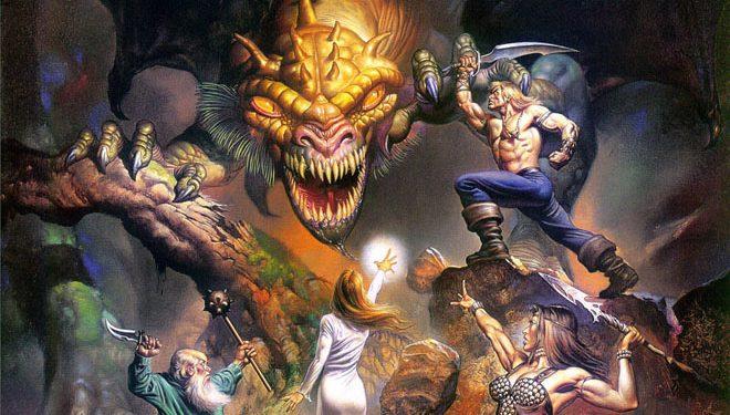 skulls  dragons  boobs and beasts    the fantasy art of