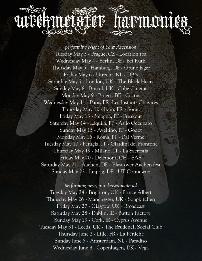 wrekmeister harmonies tour